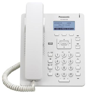 Panasonic HDV130 fehér SIP telefon