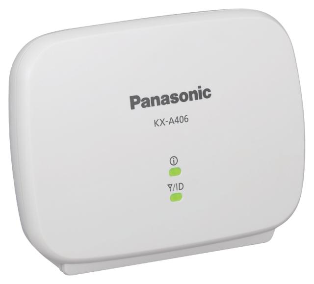 Panasonic KX-A406CE repeater hatótávolság növelő DECT rendszerekhez