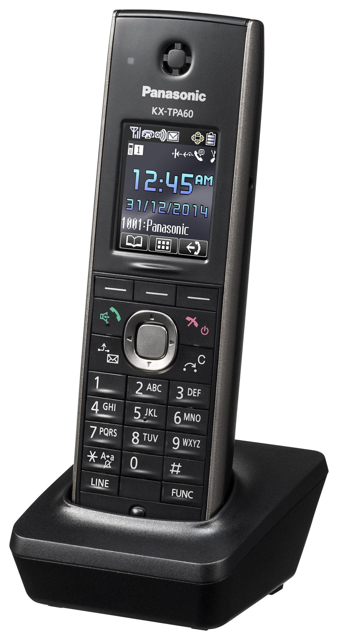 Panasonic KX-TPA60CEB kézibeszélő KX-TGP600IP DECT rendszerhez