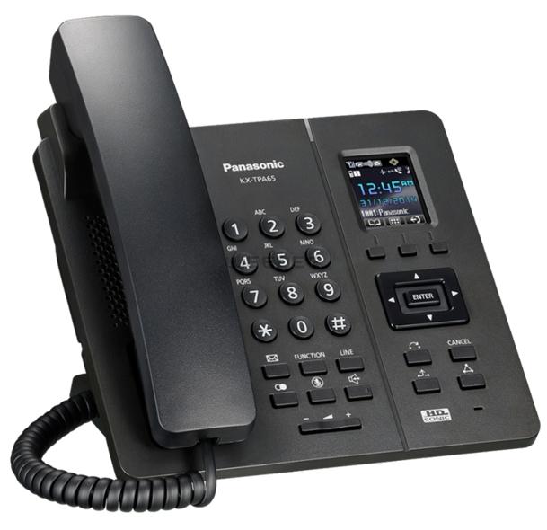 Panasonic KX-TPA65CEB vezeték nélküli asztali IP telefon
